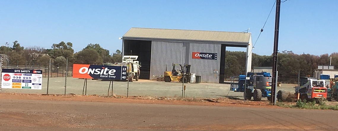 New Onsite Rental Group branch now open in Meekatharra