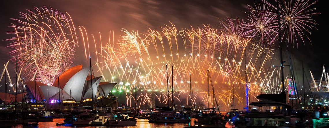 Providing specialist rental equipment to Sydney's NYE celebrations