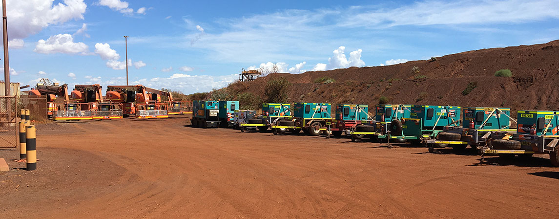 Onsite Rental Group provide specialist rental equipment to the mining sector